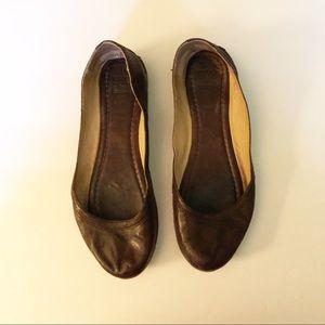 Frye Shoes - Frye Carson Leather Flats